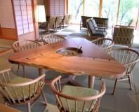 石川県Kホテル様囲炉裏テーブル