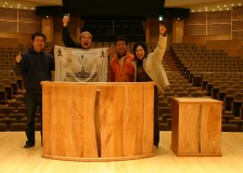 「飛騨市スピリットガーデンホール」演台