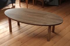 センターテーブル楕円
